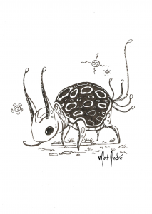 inktober-19-of-31-turtley-bug-by-mat-andre